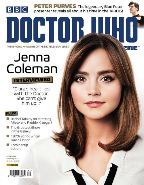 Doctor Who Magazine #482 - Jenna Coleman Interviewed