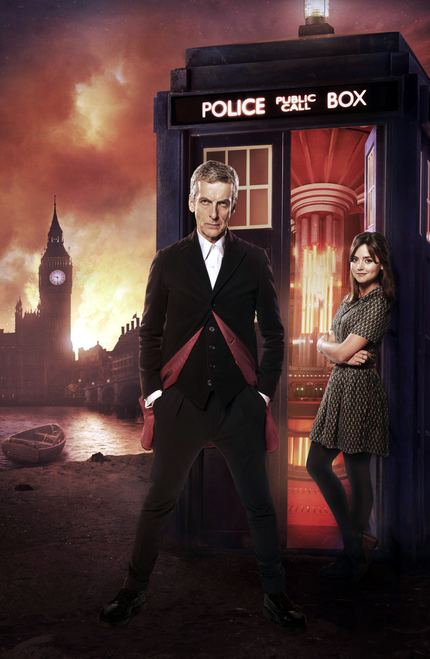 Deep Breath - 12th Doctor and Clara