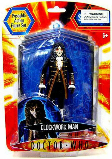 Doctor Who New Series - CLOCKWORK MAN (Black) - Series 2 Action Figure - Character Options
