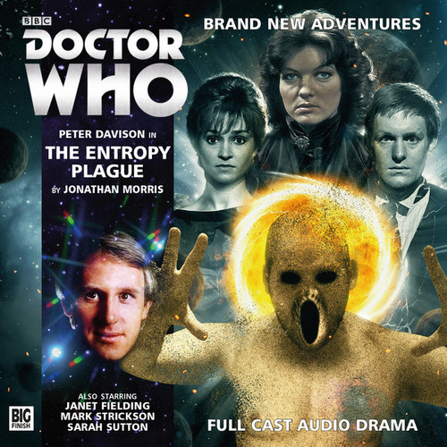 Doctor Who: THE ENTROPY PLAQUE - Big Finish 5th Doctor Audio CD #197