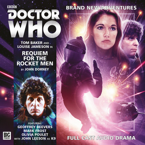 4th Doctor (Tom Baker) Stories: #4.3 REQUIEM FOR THE ROCKET MEN -  A Big Finish Audio Drama on CD