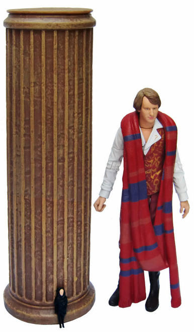 Doctor Who: 5th Doctor CASTROVALVA  Action Figure Set - Classic Series - Character Options