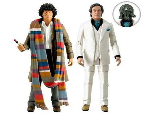 Doctor Who CITY OF DEATH - 4th Doctor (Tom Baker) Action Figure set (Last Few)