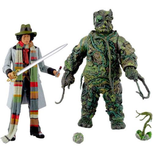 Doctor Who  SEEDS OF DOOM - 4th Doctor )Tom Baker) Action Figure Set