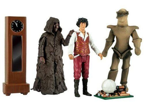 Doctor Who: 4th Doctor Who Action Figure set - KEEPER OF TRAKEN