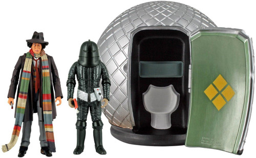 4th Doctor Who Action Figure Set - Sontaran Experiment