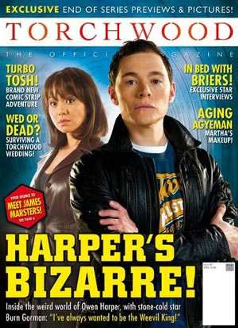 TORCHWOOD Official Magazine Issue #3 (April 2008)