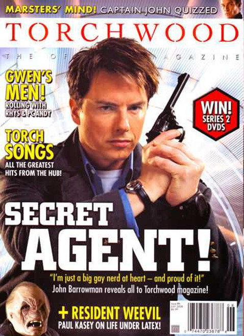 TORCHWOOD Official Magazine Issue #6 (July 2008)