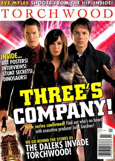 TORCHWOOD Official Magazine Issue #7 (August 2008)