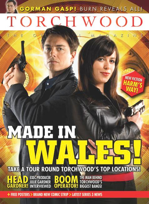 TORCHWOOD Official Magazine Issue #8 (September 2008)