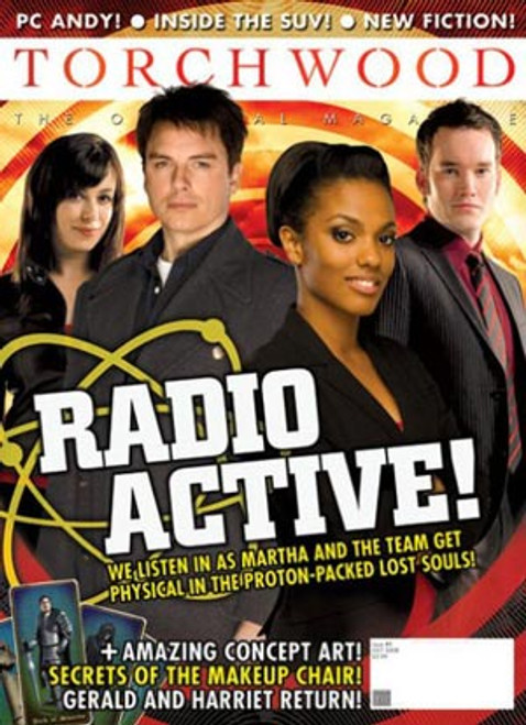 TORCHWOOD Official Magazine Issue #9 (October 2008)