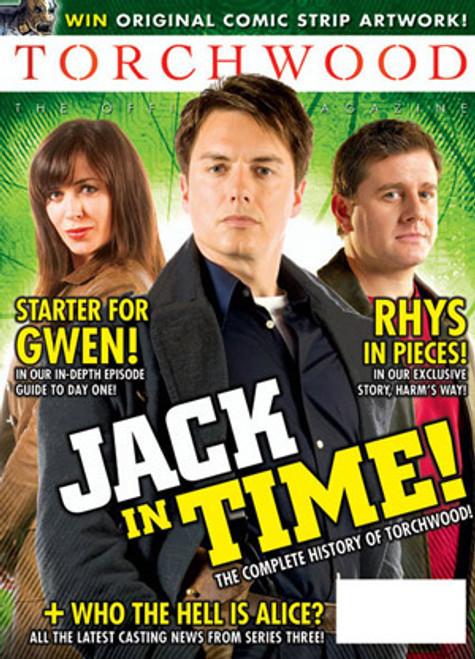 TORCHWOOD Official Magazine Issue #10 (November 2008)