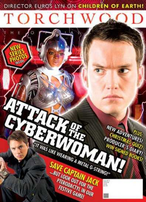 TORCHWOOD Official Magazine Issue #12 (Winter 2008)