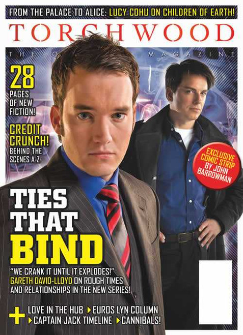 TORCHWOOD Official Magazine Issue #14 (April/May 2009) 100 pages