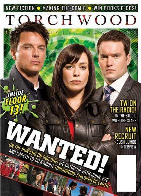 TORCHWOOD Official Magazine Issue #16 (August/September 2009) 100 pages