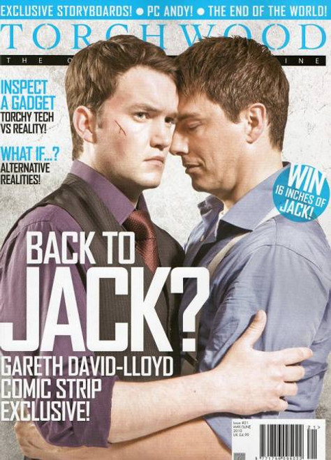 TORCHWOOD Official Magazine Issue #21