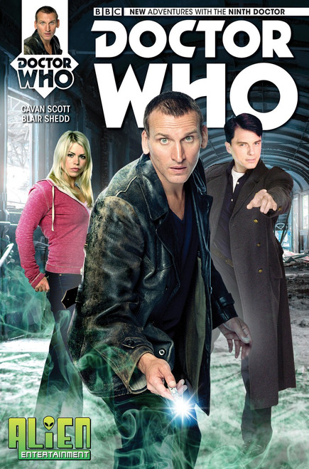 Doctor Who: 9th Doctor Titan Comics #1 - (Alien Entertainment EXCLUSIVE)