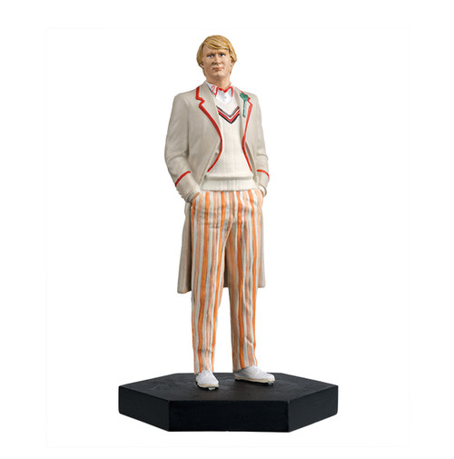 Doctor Who - 5th DOCTOR (Peter Davison) - Eaglemoss Figurine #34 - 1:21 Scale (approx. 3.75 inches)