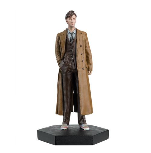 Doctor Who - 10th DOCTOR (David Tennant) - Eaglemoss Figurine #8 - 1:21 Scale