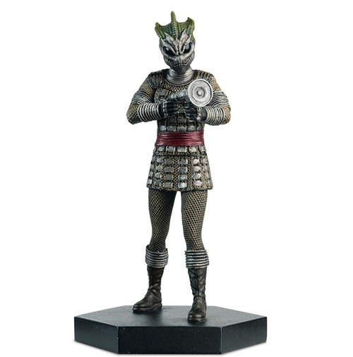 Doctor Who - SILURIAN WARRIOR - Eaglemoss Figurine #5 - 1:21 Scale (approx. 3.75 inches)