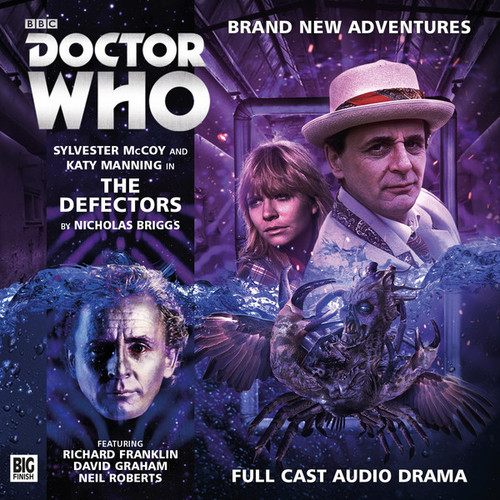Doctor Who: THE DEFECTORS - Big Finish 7th Doctor Audio CD #198