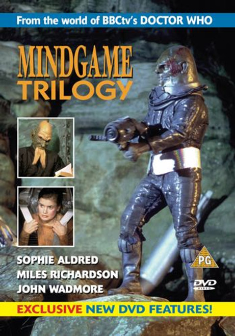 Mindgame Trilogy - Reeltime Productions UK Imported DVD (Last Few Copies)