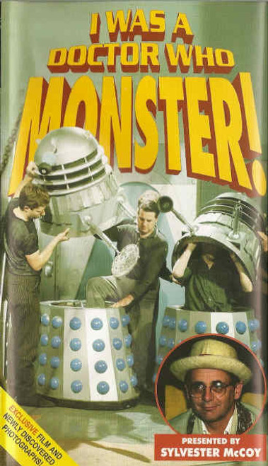 I was a Doctor Who Monster! - Reeltime Productions UK Imported DVD