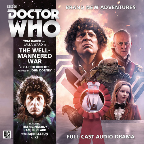 Doctor Who Novel Adaptation: The WELL-MANNERED WAR - Big Finish Audio CD #5