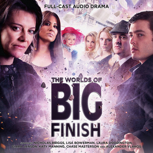 The Worlds of Big Finish Audio Drama - Special 4 CD Set of New Stories