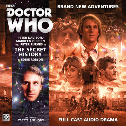 Doctor Who: THE SECRET HISTORY - Big Finish 5th Doctor Audio CD #200
