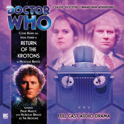 RETURN OF THE KROTONS - Special Big Finish Audio CD #VII