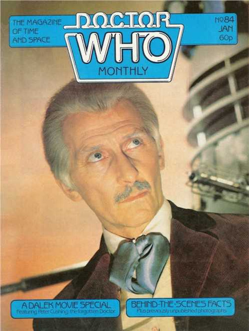 Doctor Who Magazine #84