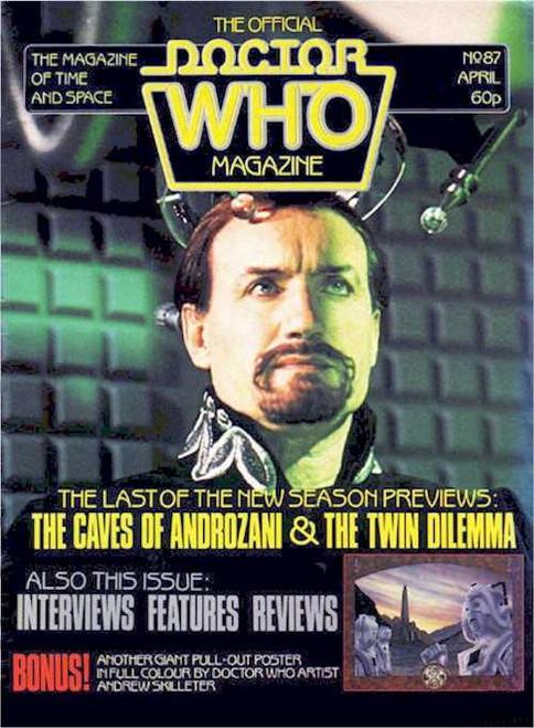 Doctor Who Magazine #87
