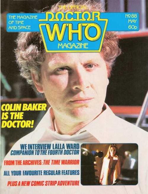 Doctor Who Magazine #88