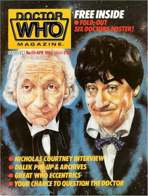 Doctor Who Magazine #111