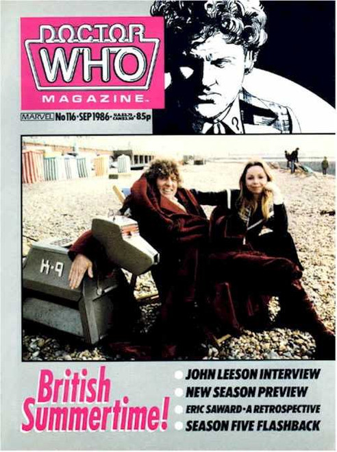 Doctor Who Magazine #116 - John Leeson (K9) Interview