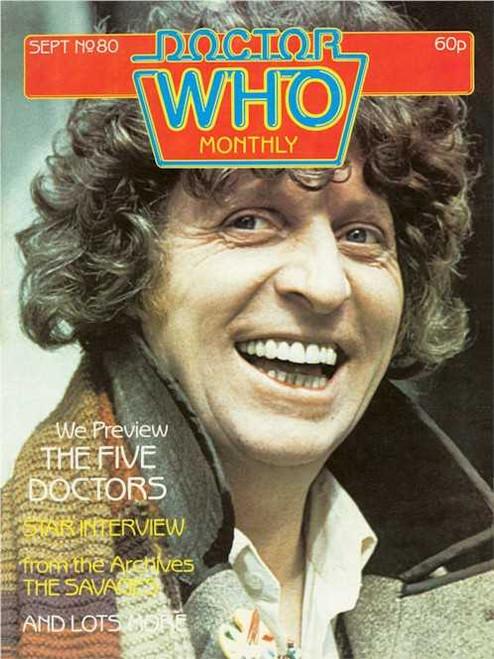 Doctor Who Magazine #80