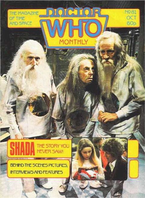 Doctor Who Magazine #81