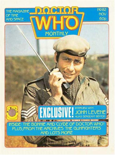 Doctor Who Magazine #82