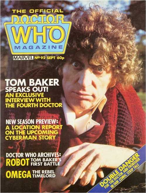 Doctor Who Magazine #92