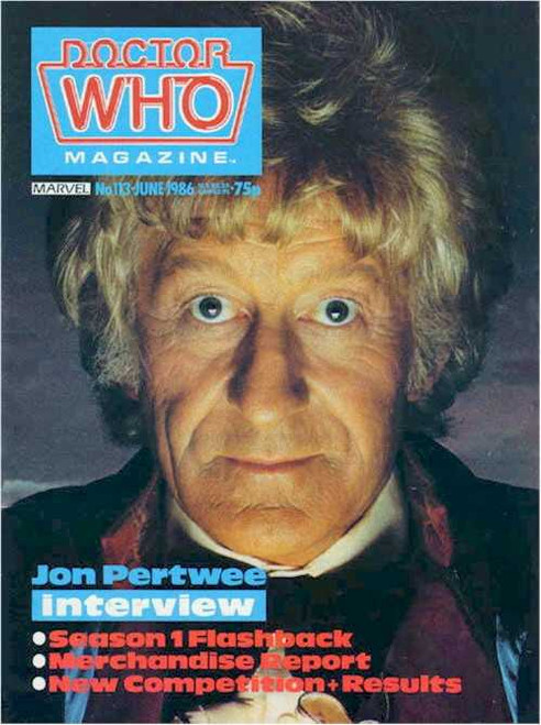 Doctor Who Magazine #113