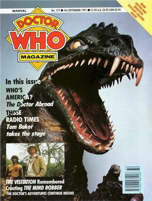 Doctor Who Magazine #177
