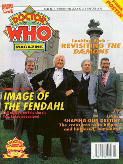 Doctor Who Magazine #197