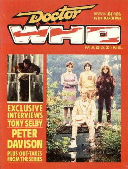 Doctor Who Magazine #134