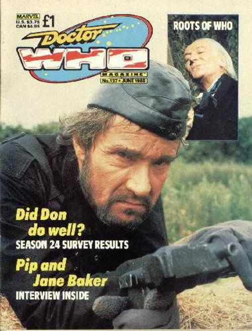 Doctor Who Magazine #137