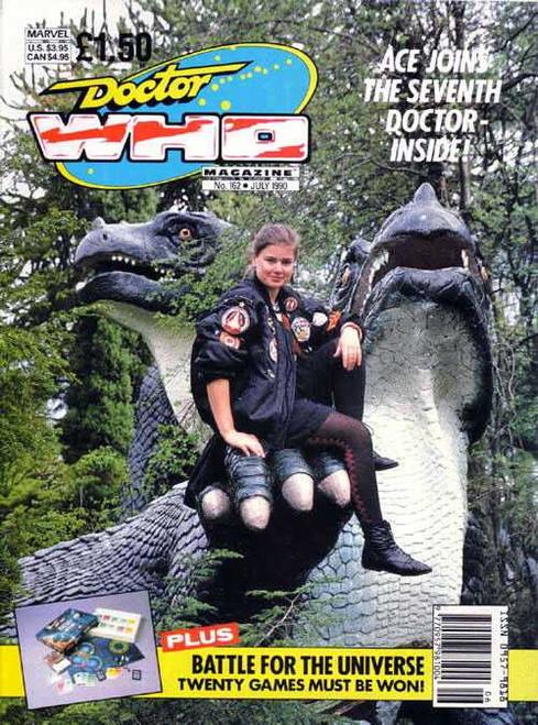 Doctor Who Magazine #162