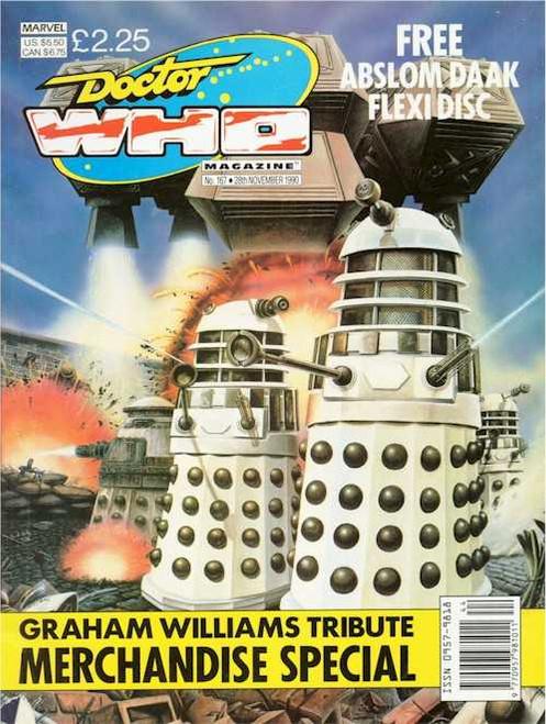 Doctor Who Magazine #167