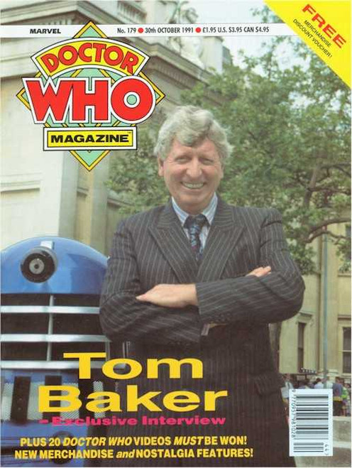Doctor Who Magazine #179