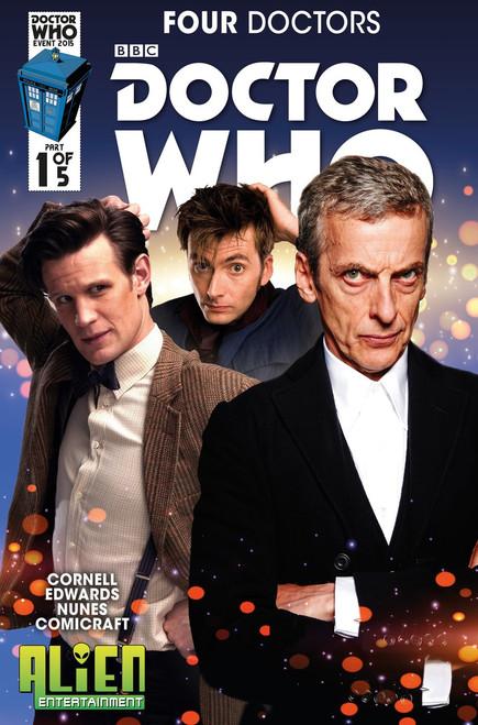 Doctor Who: Four Doctors 2015 Event Titan Comics #1 (Alien Entertainment Exclusive)
