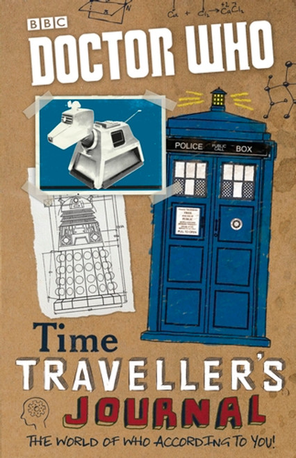 Doctor Who: TIME TRAVELLER'S JOURNAL - A BBC Illustrated Book